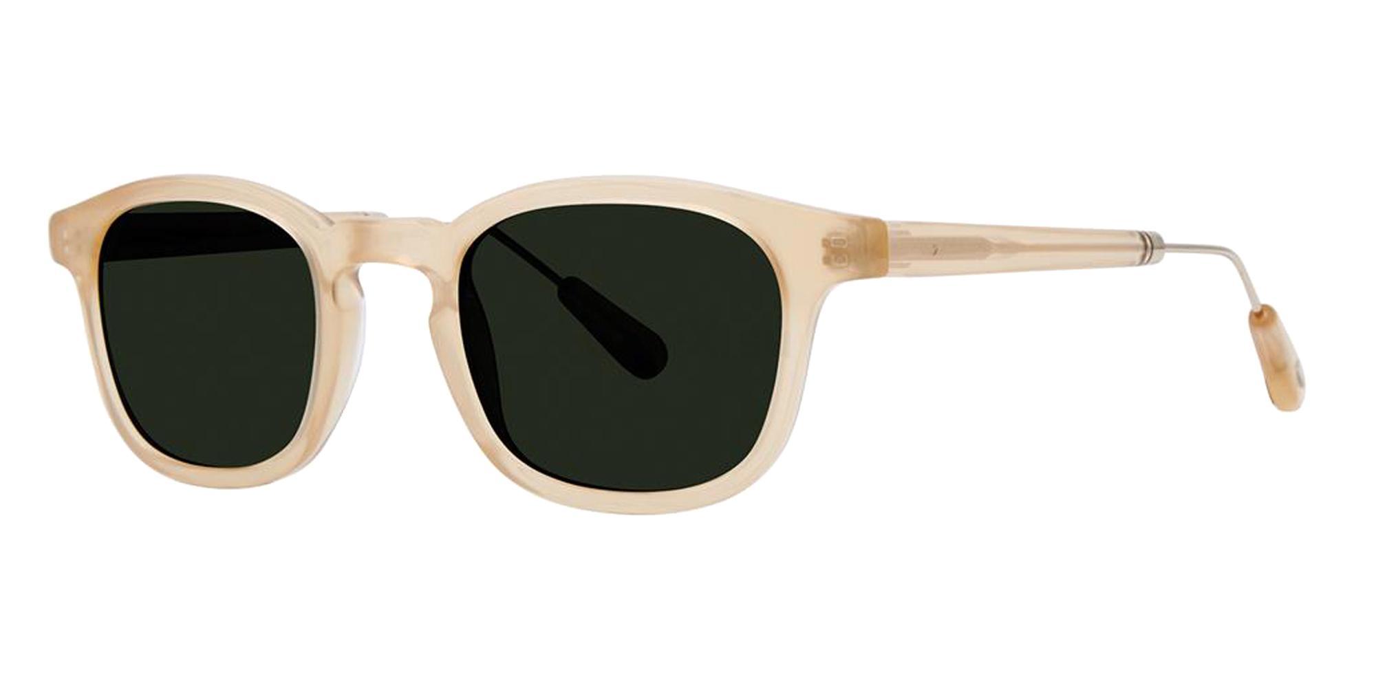 Crystal Sand DESMOND Sunglasses, Zac Posen