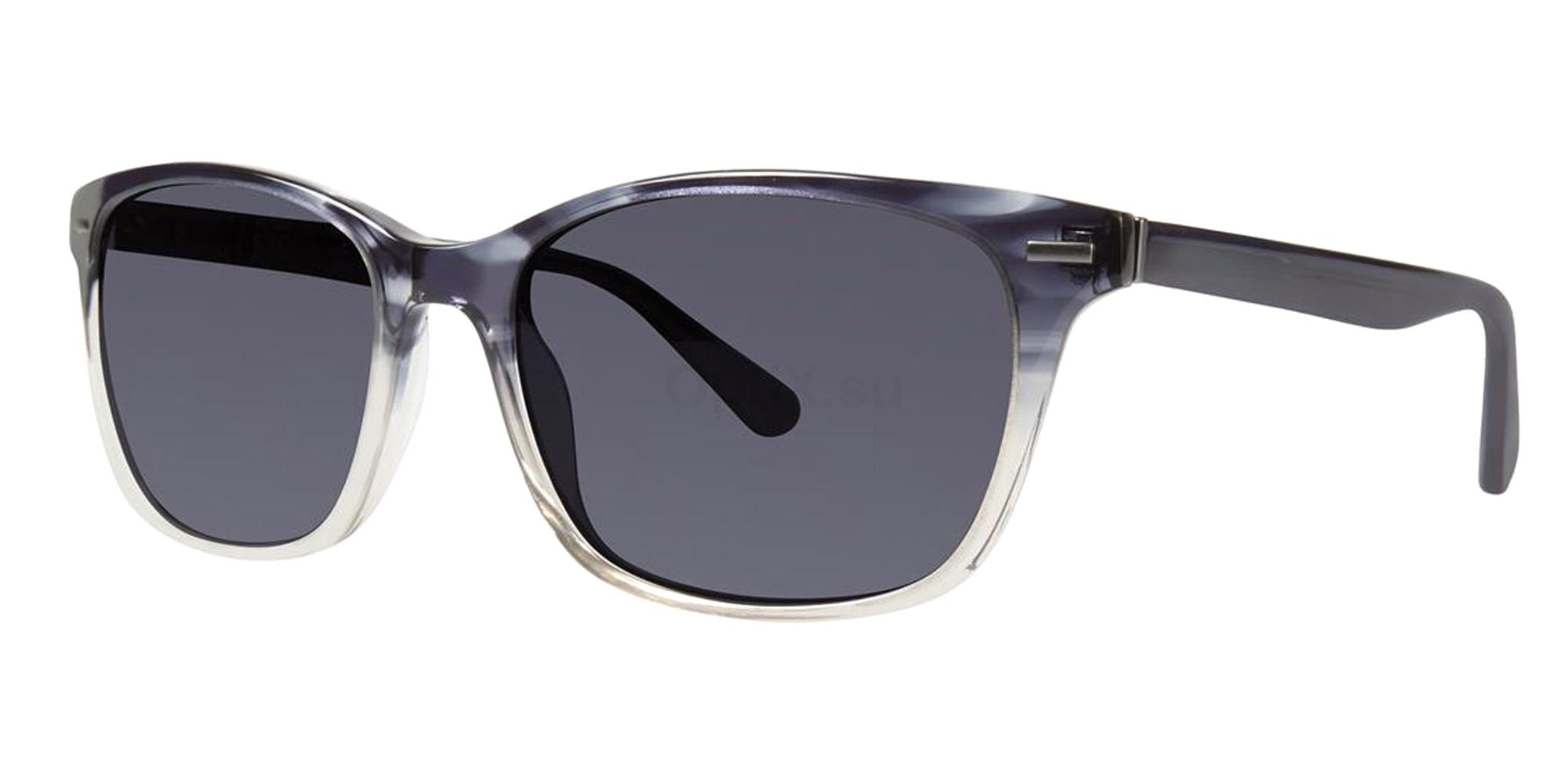 Blue Gradient SOREN Sunglasses, Zac Posen