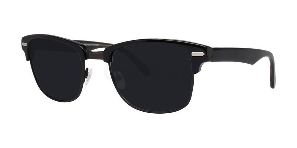 Black HIGHPOCKET POLARIZED Sunglasses, Original Penguin