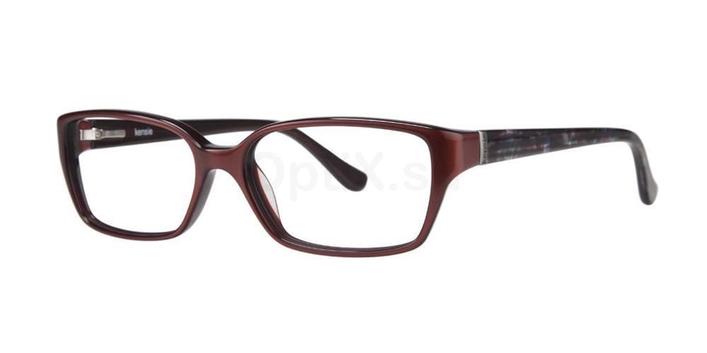 Maroon ECSTATIC Glasses, Kensie