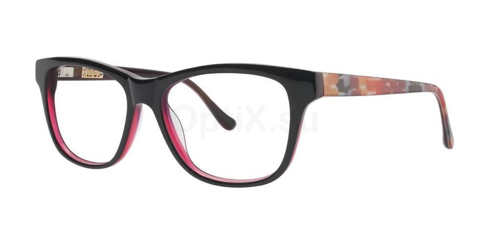 Burgundy BLURRY Glasses, Kensie