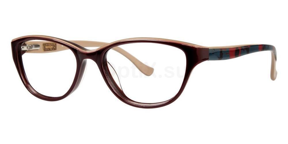 Burgundy GORGEOUS Glasses, Kensie