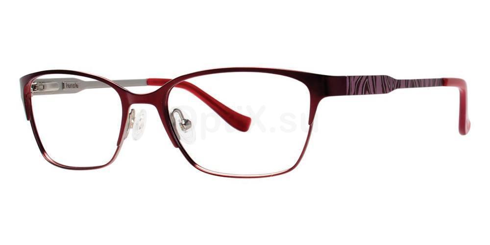 Burgundy WILD Glasses, Kensie