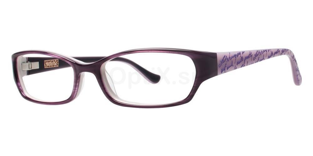 Purple ROSE Glasses, Kensie