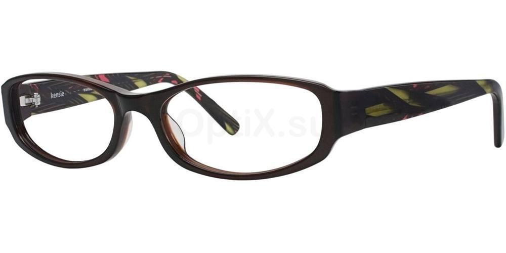 Tortoise TRANSLUCENT Glasses, Kensie