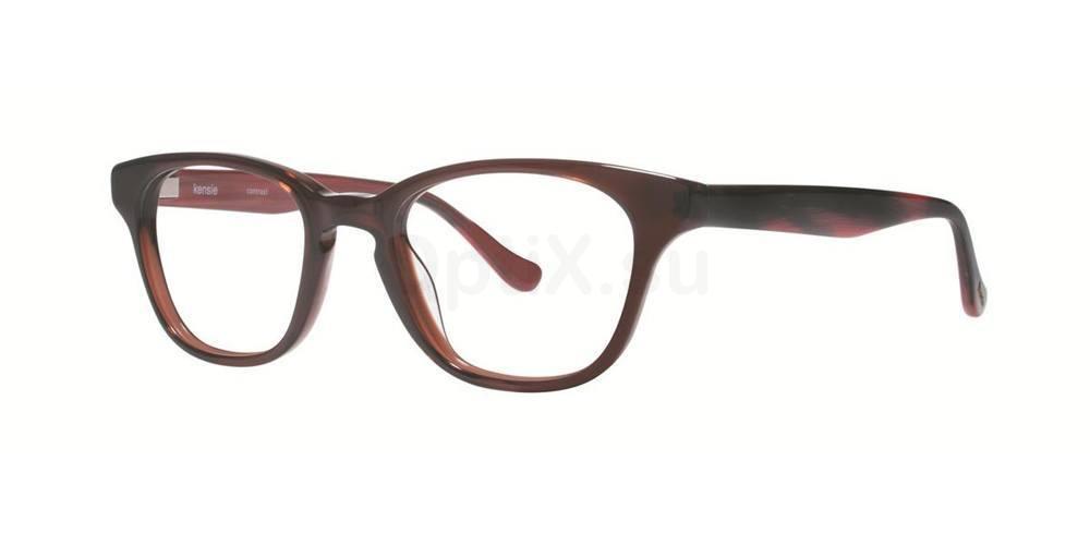 Brown CONTRAST Glasses, Kensie
