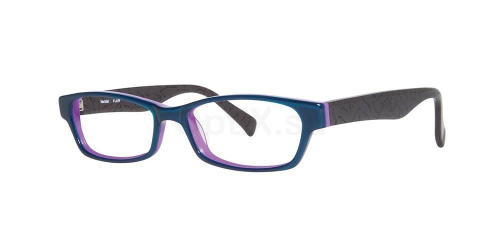 Aqua FLAIR Glasses, Kensie