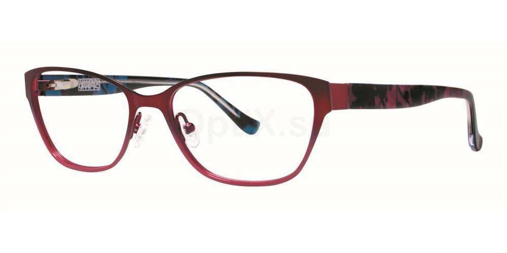 Burgundy COLLAGE Glasses, Kensie