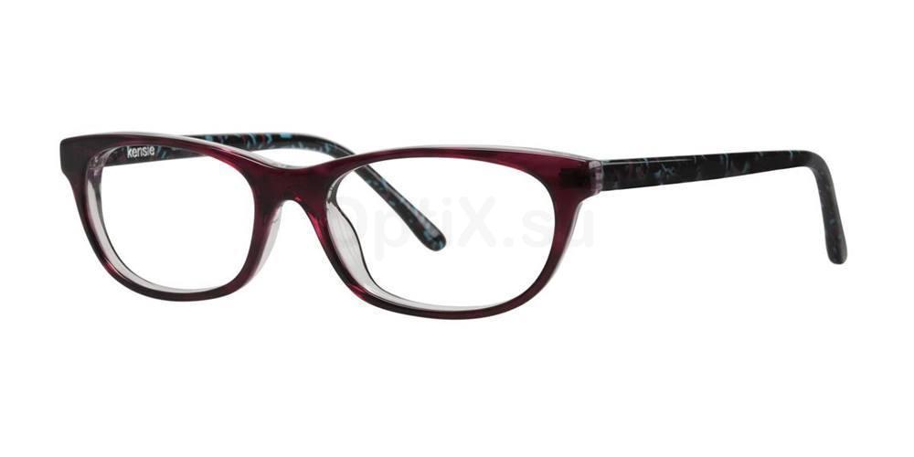 Burgundy LUXURIOUS Glasses, Kensie