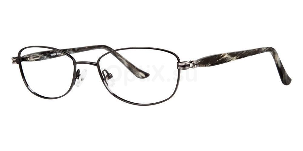Black T198 Glasses, Timex