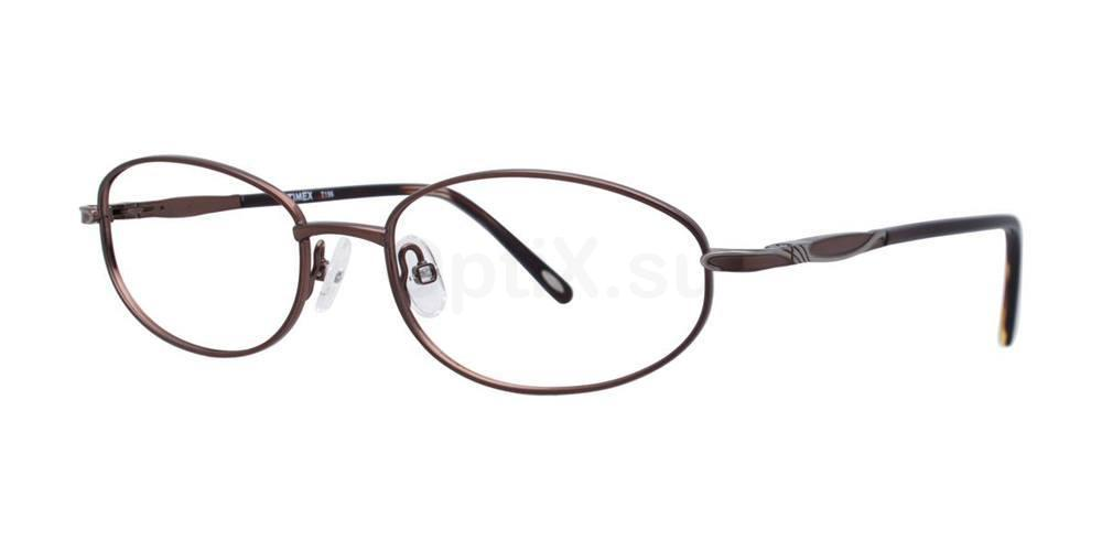 Brown T196 Glasses, Timex