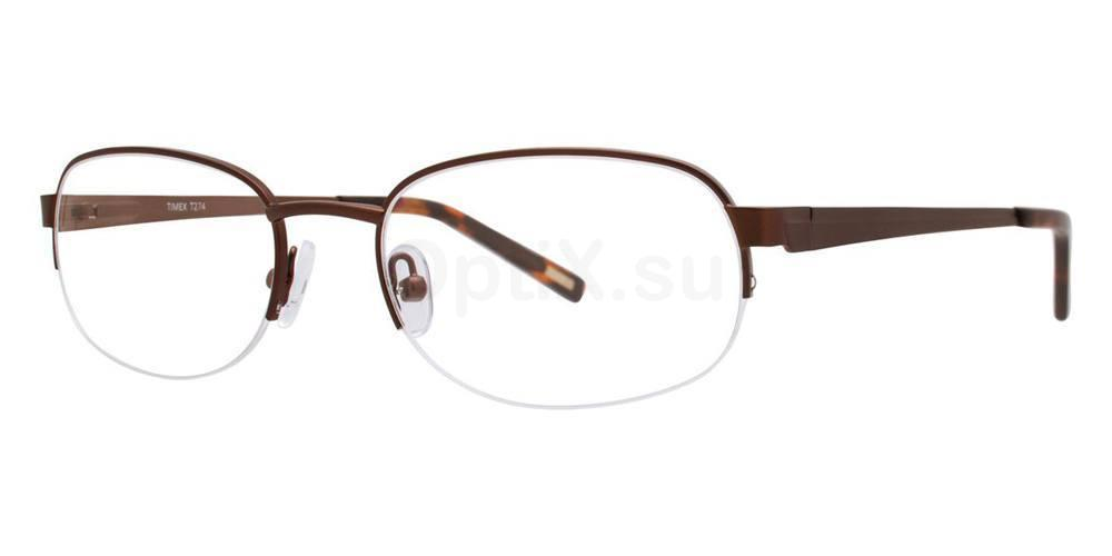 Brown T274 Glasses, Timex