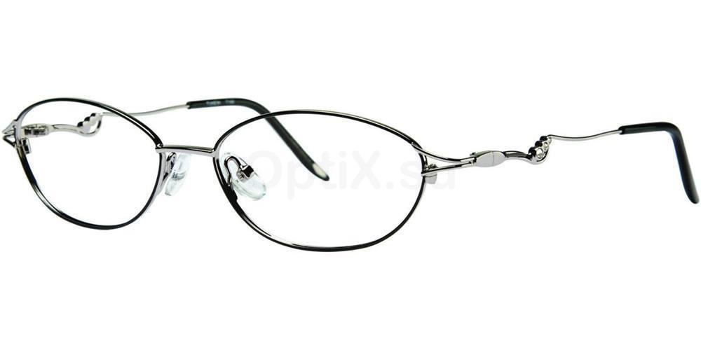 Black/Gunmetal T166 Glasses, Timex