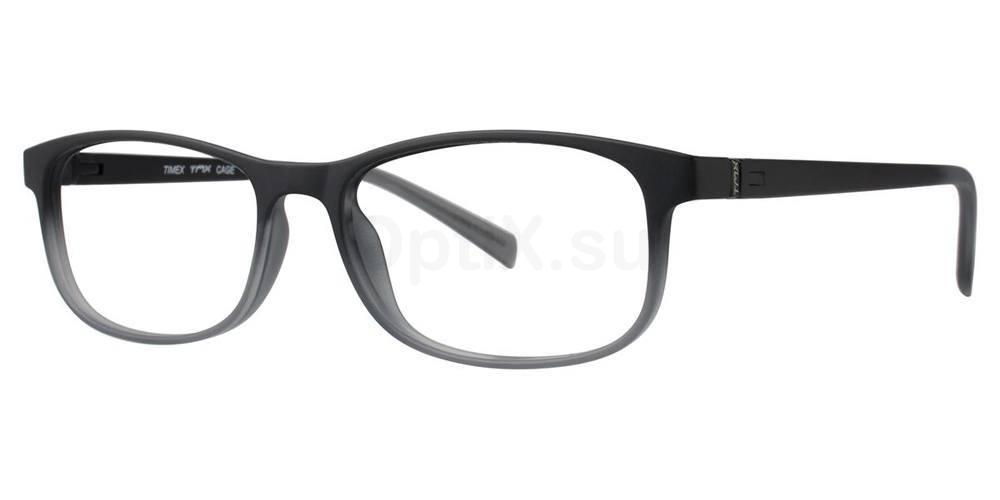 Black CAGE Glasses, TMX by Timex