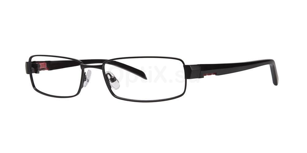 Black TOPSPIN Glasses, TMX by Timex