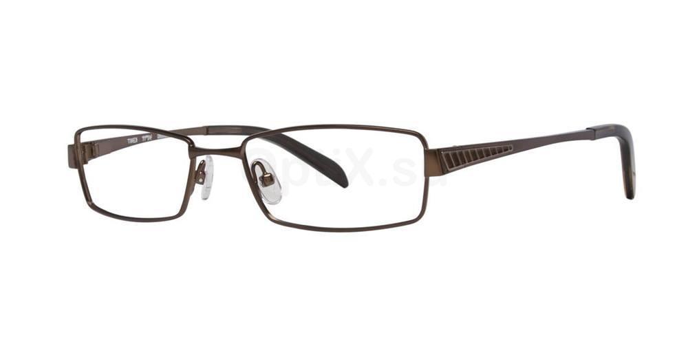 Brown CROSSBAR Glasses, TMX by Timex
