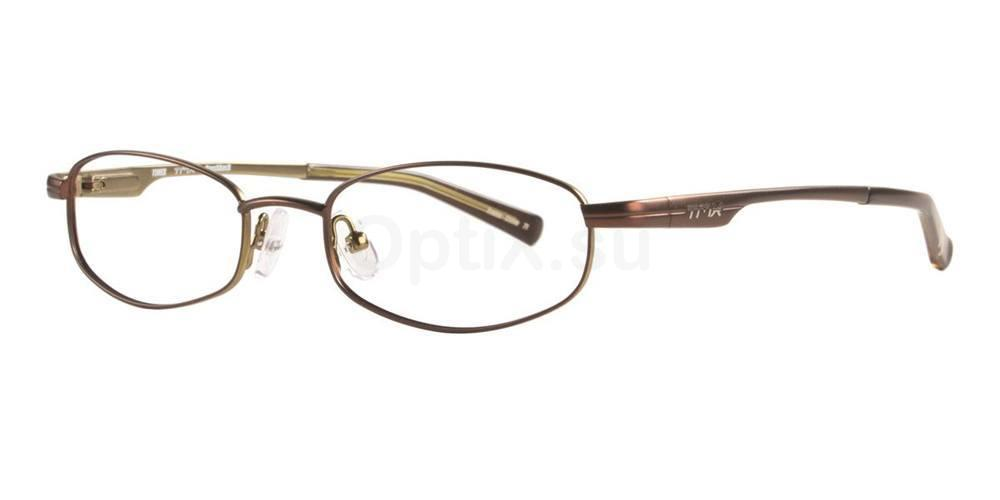 Brown BRUSHBACK Glasses, TMX by Timex