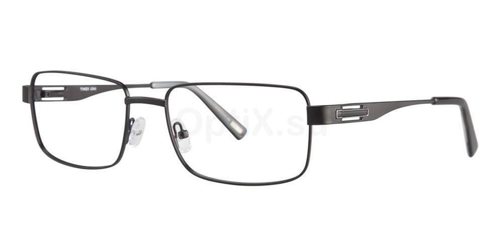 Black L066 Glasses, Timex MAX