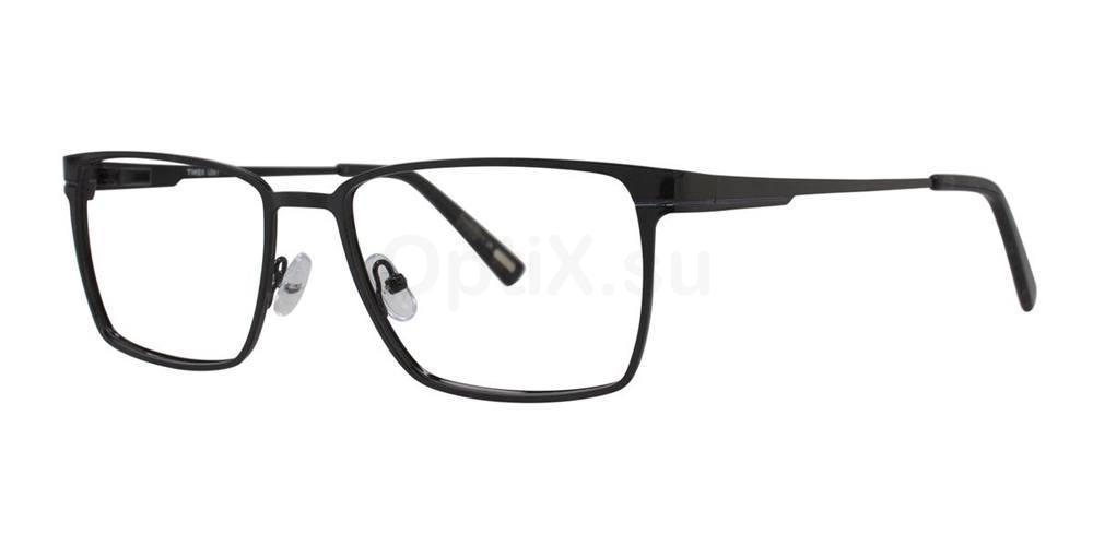 Black L067 Glasses, Timex MAX