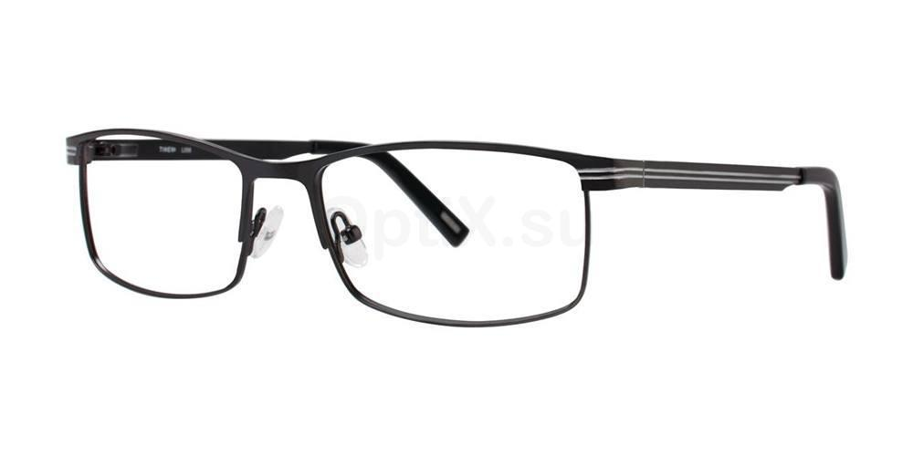 Black L056 Glasses, Timex MAX
