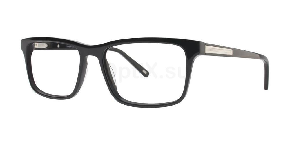 Black L054 Glasses, Timex MAX