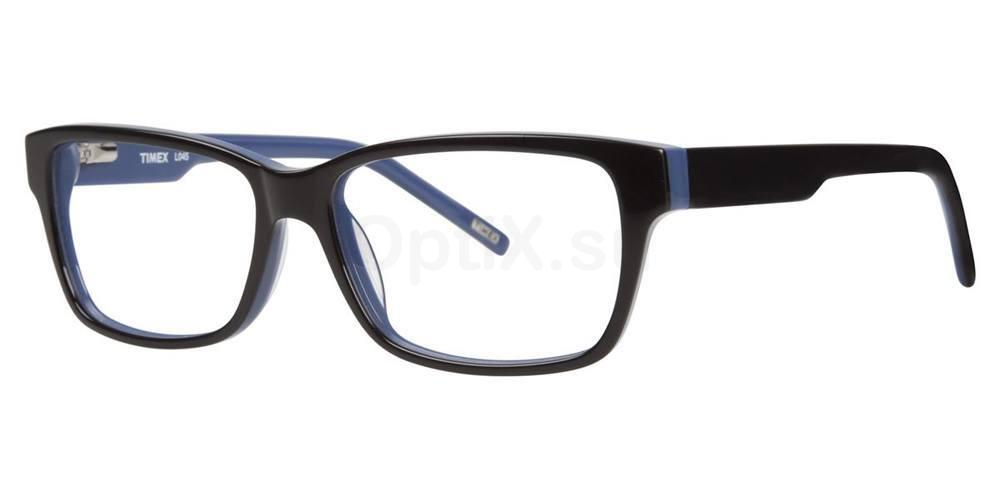 Black L045 Glasses, Timex MAX