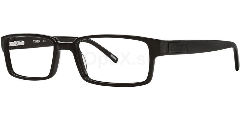 Black L016 Glasses, Timex MAX
