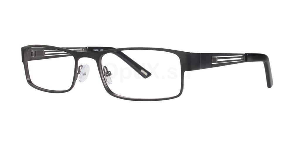 Black L032 Glasses, Timex MAX
