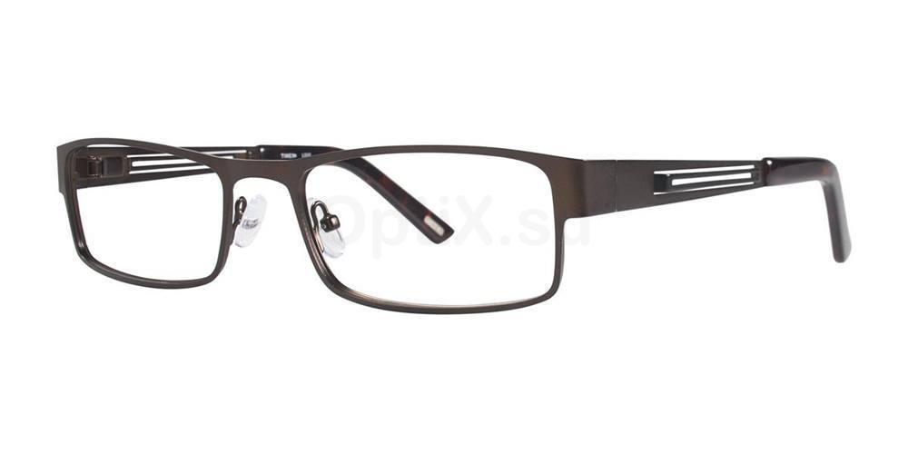 Brown L032 Glasses, Timex MAX