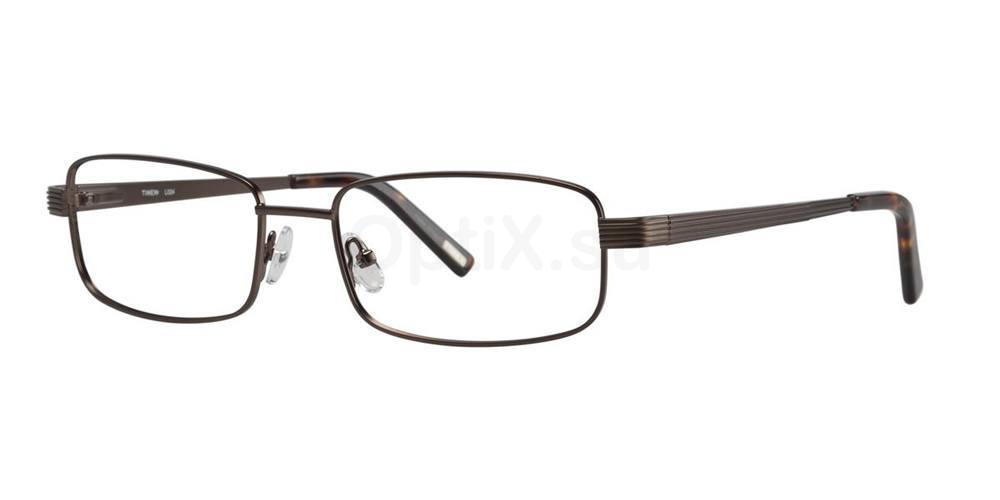 Brown L024 Glasses, Timex MAX