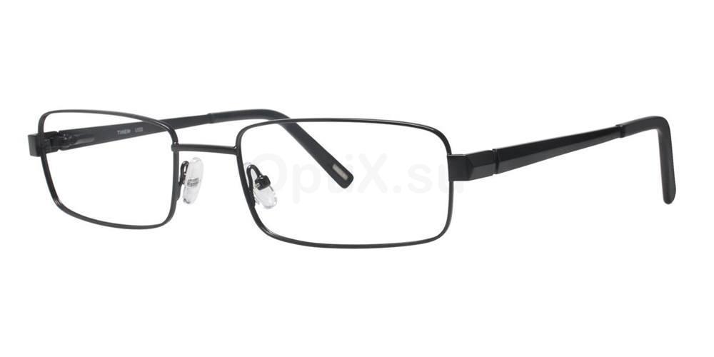 Black L022 Glasses, Timex MAX