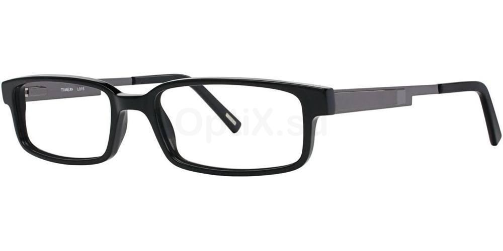 Black L015 Glasses, Timex MAX