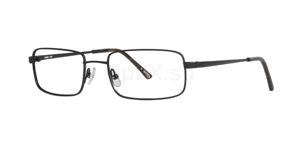 Black X022 Glasses, Timex STRETCH
