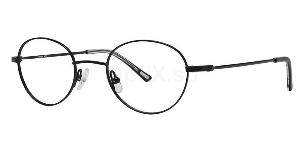 Black X020 Glasses, Timex STRETCH