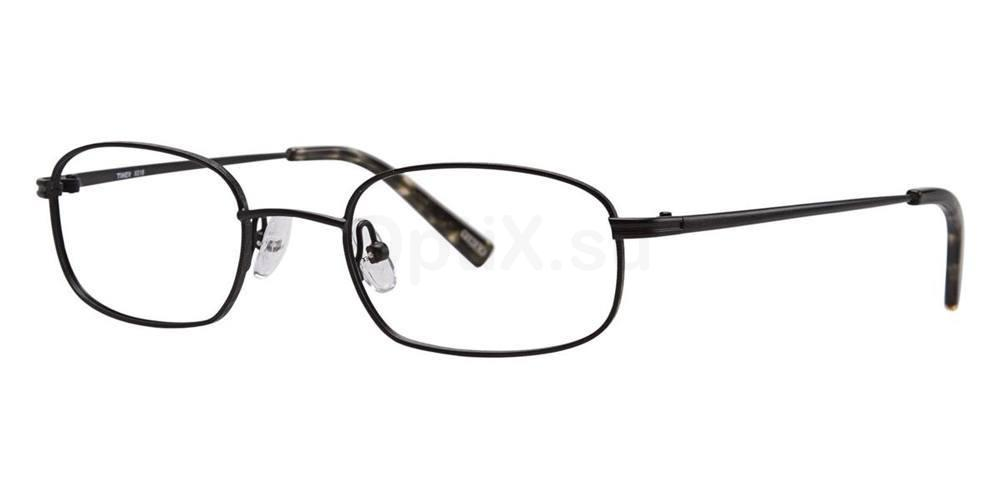 Black X018 Glasses, Timex STRETCH