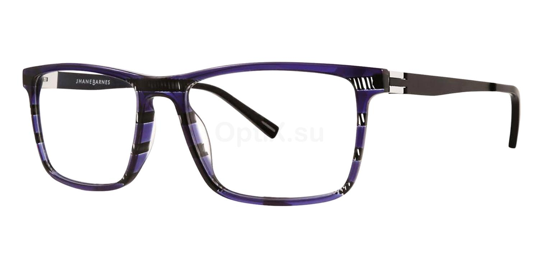 Blue Trichotomy Glasses, Jhane Barnes