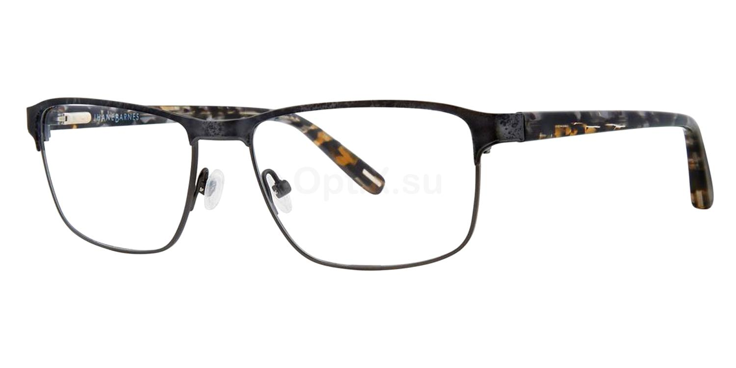 Black Uniform Glasses, Jhane Barnes