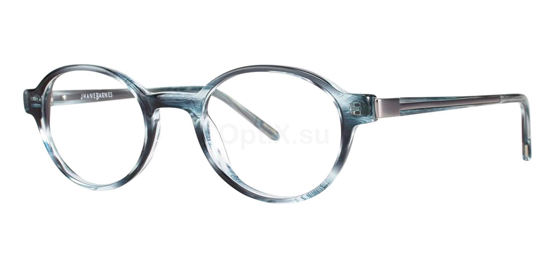 Ice Blue Parabola Glasses, Jhane Barnes