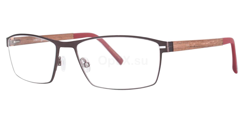 Gunmetal Quadrilateral Glasses, Jhane Barnes