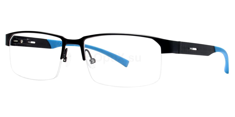 Black Alternate Glasses, Jhane Barnes
