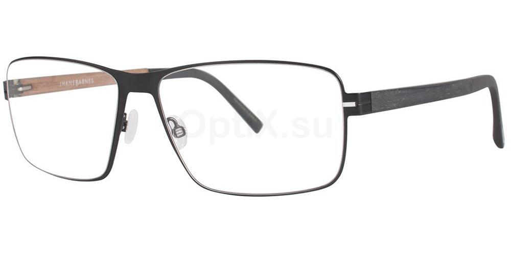 Black Quadrangle Glasses, Jhane Barnes