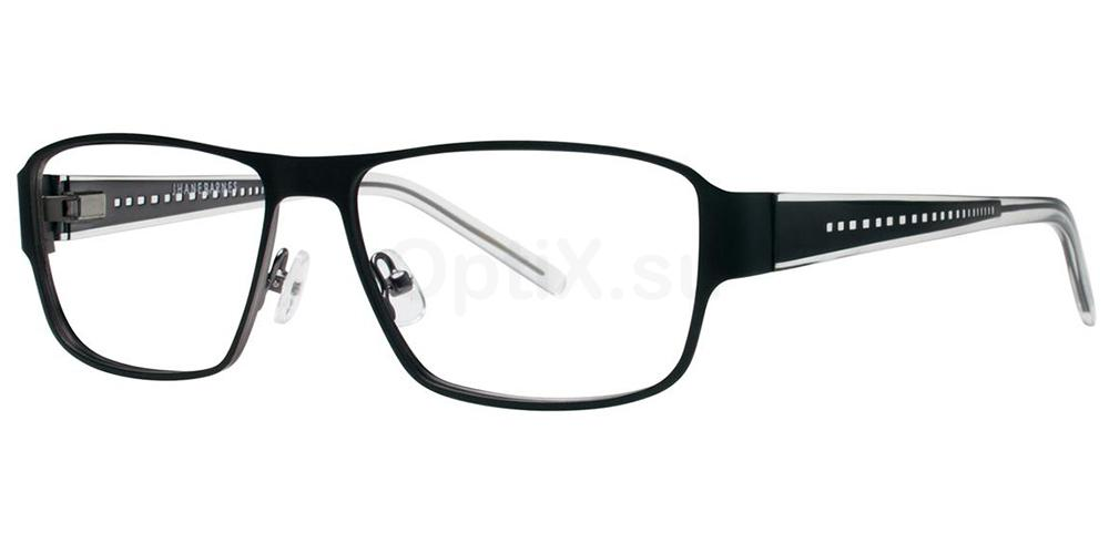 Black Transversal Glasses, Jhane Barnes