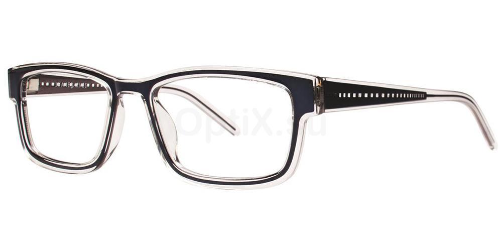 Navy Converge Glasses, Jhane Barnes