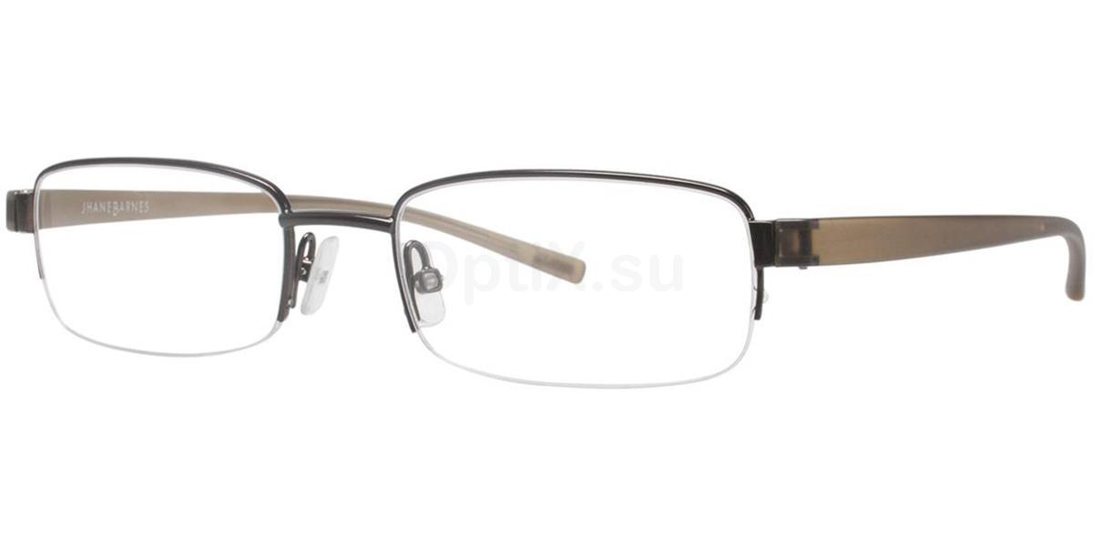 Brown Derivative Glasses, Jhane Barnes
