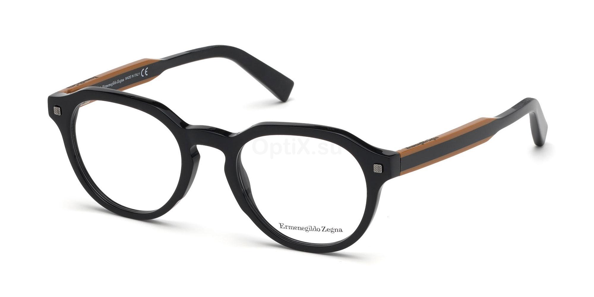 001 EZ5128 Glasses, Ermenegildo Zegna