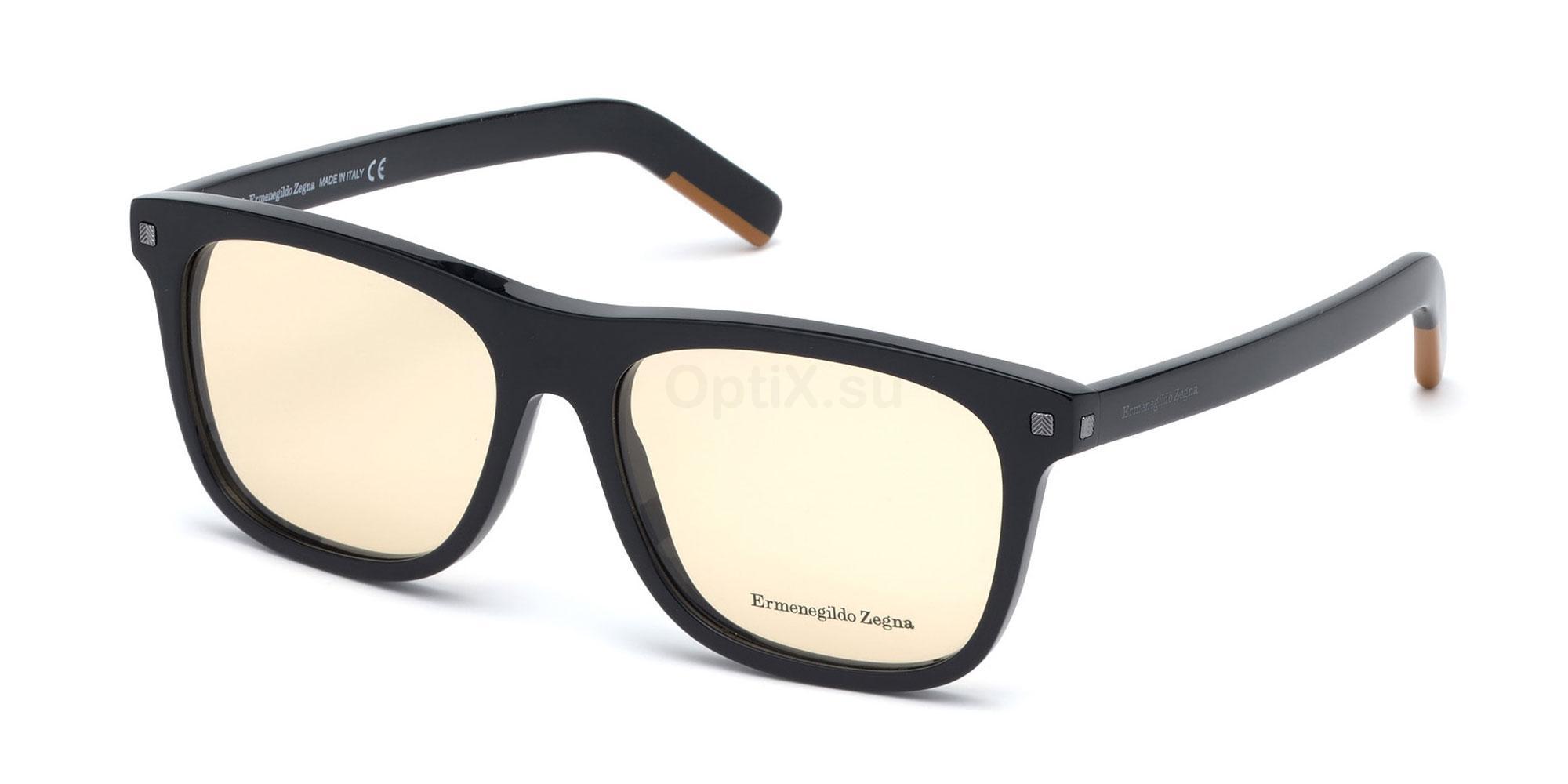 001 EZ5146 Glasses, Ermenegildo Zegna