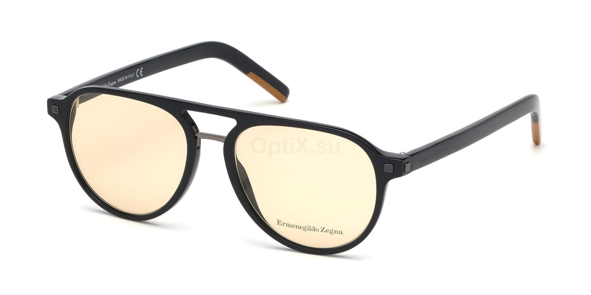 001 EZ5147 Glasses, Ermenegildo Zegna