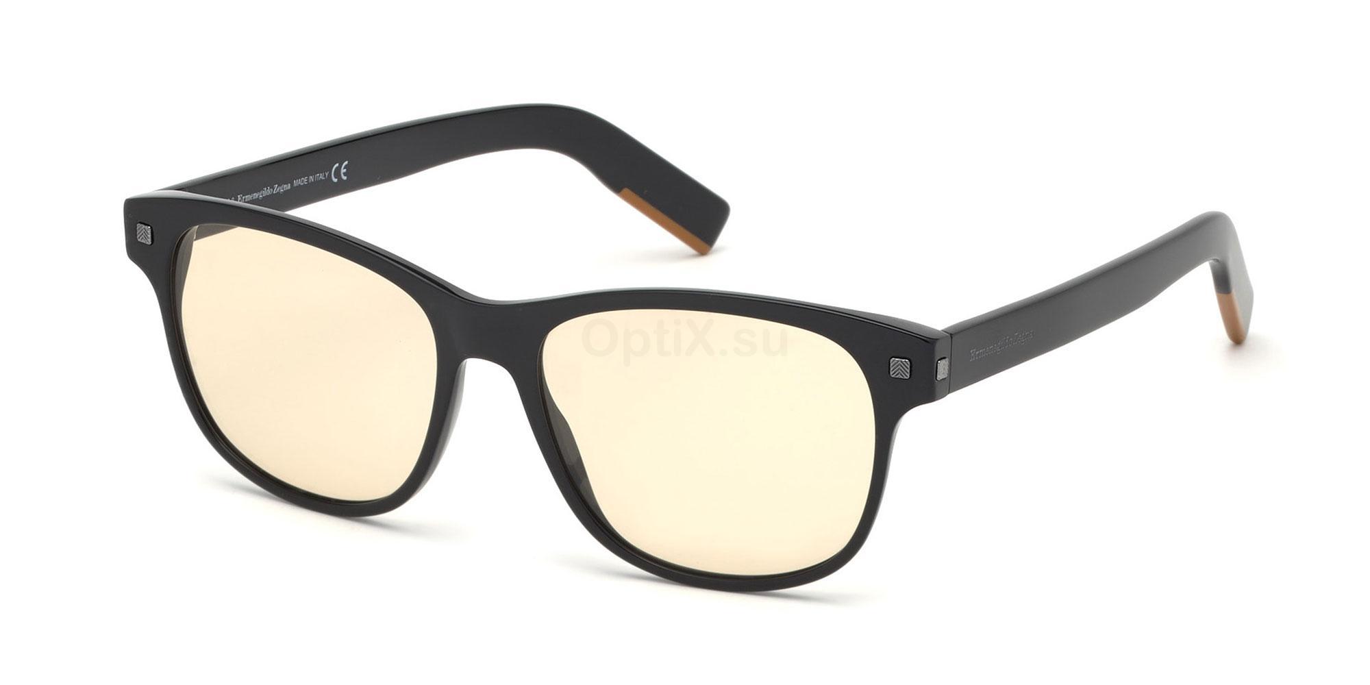 001 EZ5158 Glasses, Ermenegildo Zegna