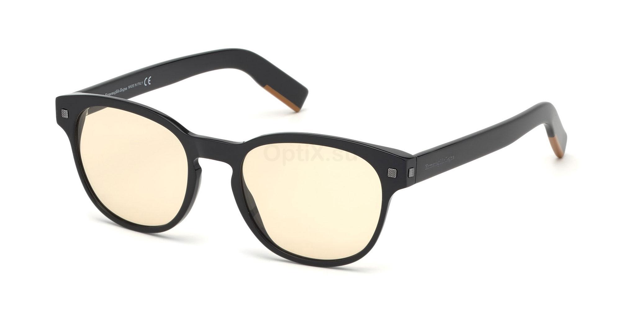 001 EZ5159 Glasses, Ermenegildo Zegna