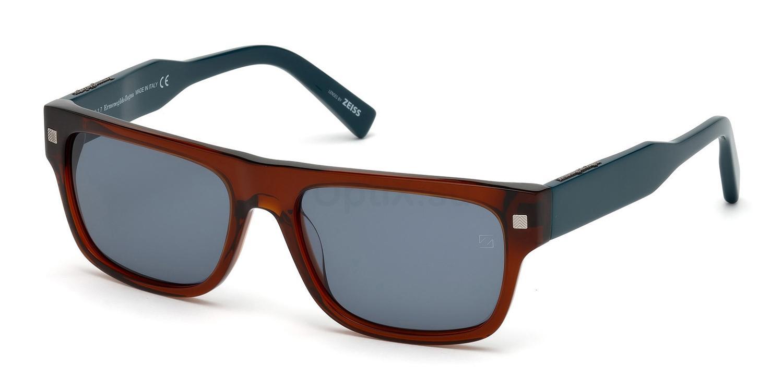 50V EZ0088 Sunglasses, Ermenegildo Zegna